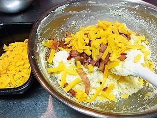 チーズとベーコンのタルト15