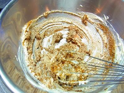 小豆と黒糖のケーキ4