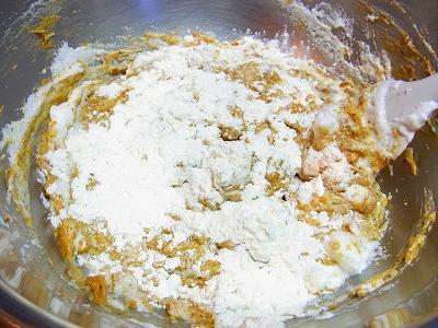 小豆と黒糖のケーキ11