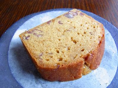 小豆と黒糖のケーキ21