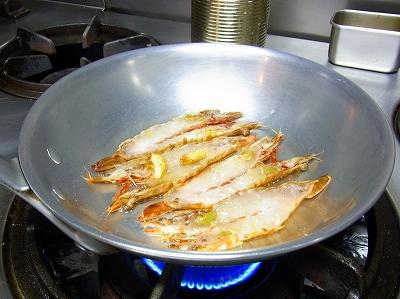 車海老のスパゲティ3