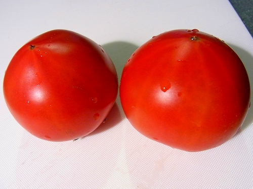 フルーツトマトの焼きブルスケッタ