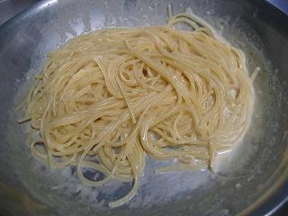 アンチョビのクリームスパゲティ3