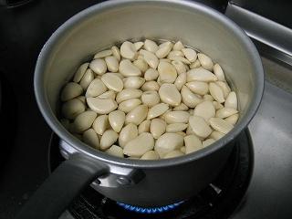 にんにくのスープ4