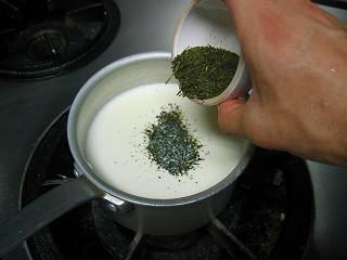 お茶のパンナコッタ4