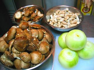 椎茸のポタージュの作り方4