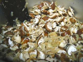 椎茸のポタージュの作り方12