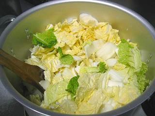 白菜のポタージュ6