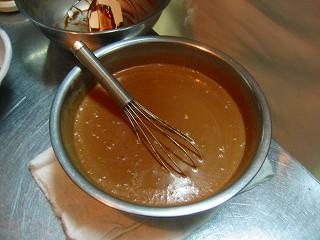 チョコレートタルト8