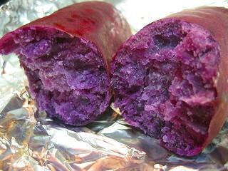 紫芋のポタージュ4