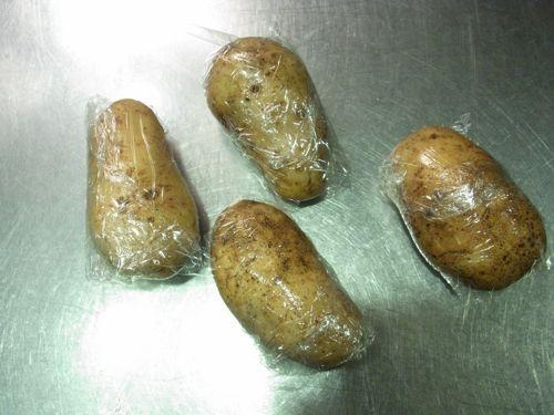 スモークサーモンのポテトサラダ10
