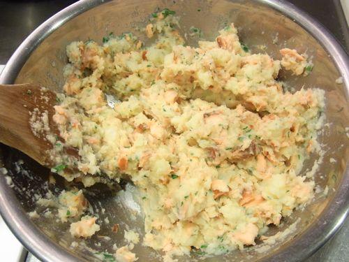 スモークサーモンのポテトサラダ5
